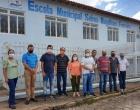 Visita dos Srs. Vereadores à Escola Municipal Selma Magalhães Ferreira